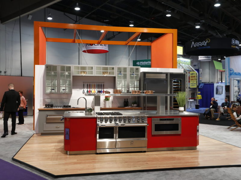 Red Cabinets Blog KBIS 2019 Kesseboehmer USA