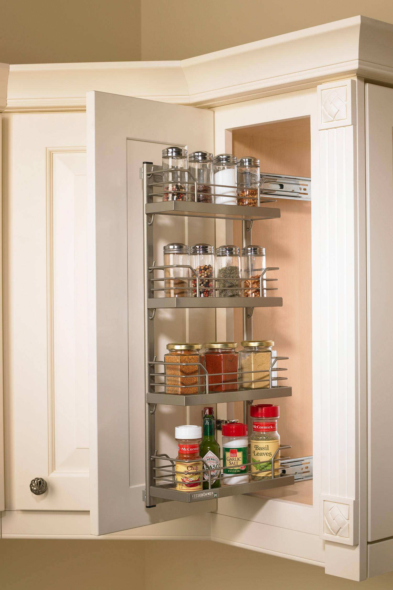 Spice Rack Kessebohmer Clever Storage