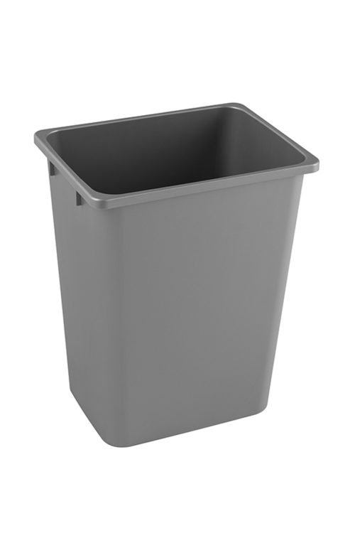 Wastebin 36q Gray Kesseboehmer USA