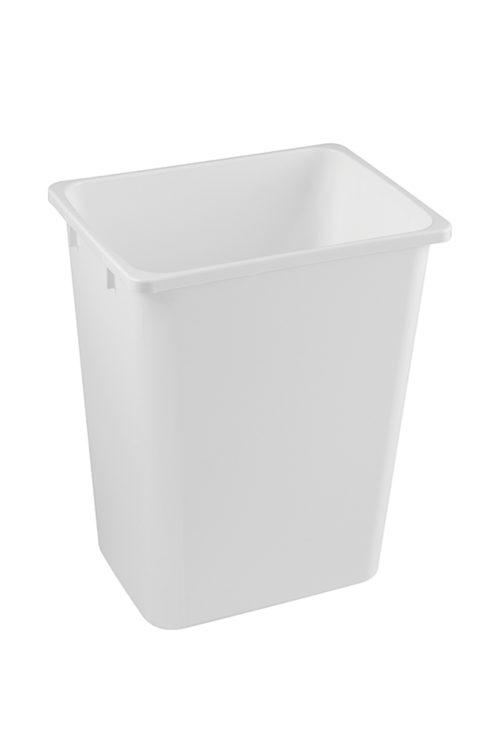 Wastebin 36q White Kesseboehmer USA