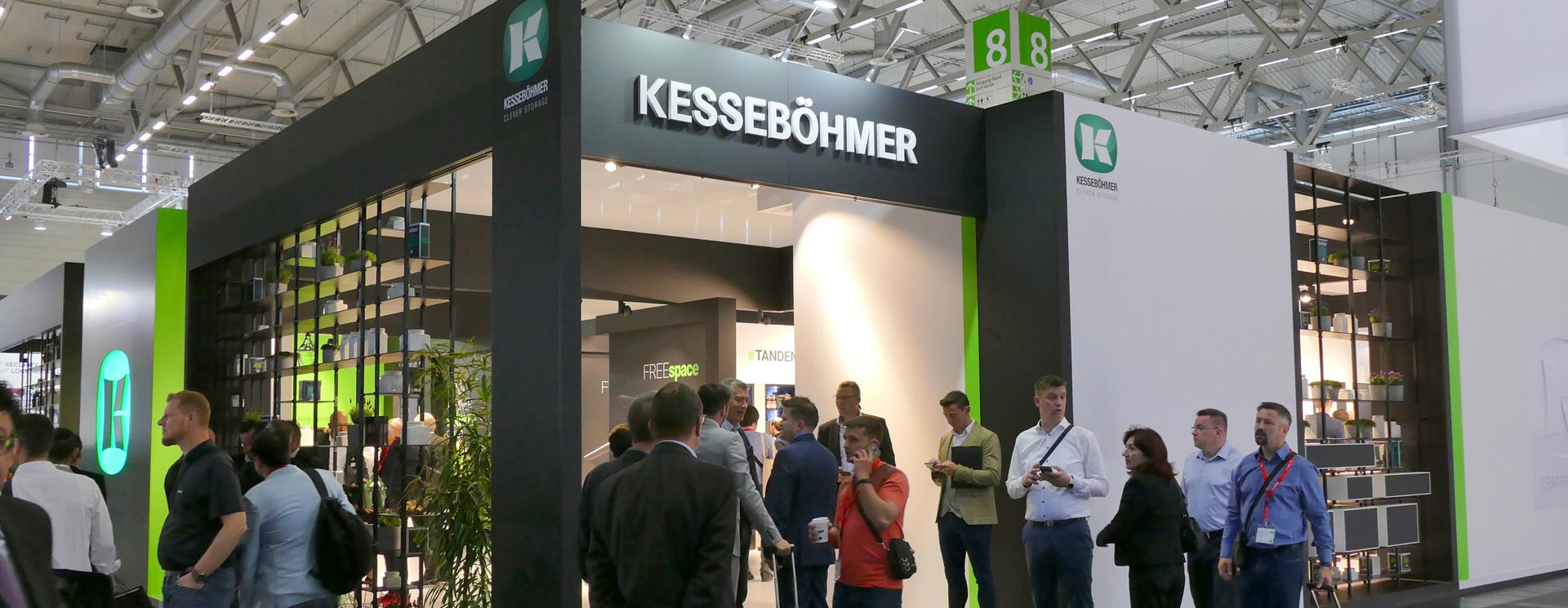 """Driving the Future""Kesseböhmer Germany at Interzum 2019 – Clever Storage by Kesseböhmer"
